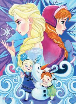 Frozen Disney Large Piece