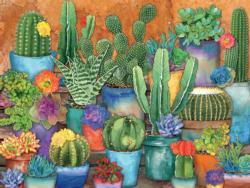 Cactus Pots Garden Large Piece