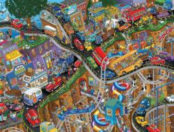 Moving Parts (Steve Skelton's Tooniverse) Cartoons Jigsaw Puzzle
