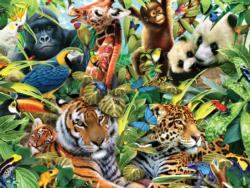 Forest Friends (Harmony) Jungle Animals Jigsaw Puzzle