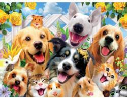 Backyard Pals Dogs Jigsaw Puzzle