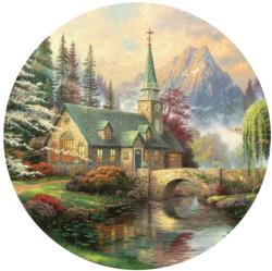 Dogwood Chapel Churches Jigsaw Puzzle