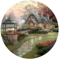 Make a Wish Cottage Cottage / Cabin Jigsaw Puzzle