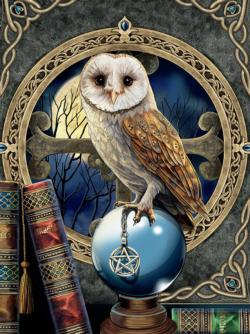 Night Spirit - Spell Keeper Birds Jigsaw Puzzle