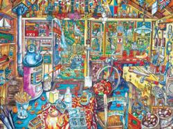 The Workshop Domestic Scene Jigsaw Puzzle
