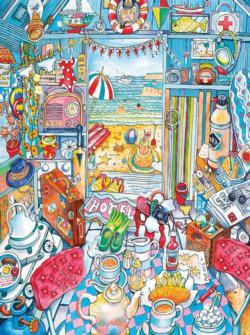 Wish You Were Here (Room With A View) Cartoons Jigsaw Puzzle