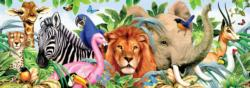 Exotic Animals (Long Shots) Lions Panoramic
