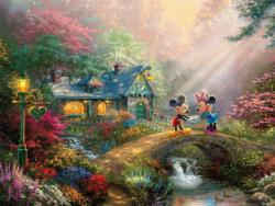 Mickey and Minne Sweetheart Bridge Movies / Books / TV Jigsaw Puzzle
