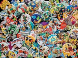 Vintage Buttons Cartoon Jigsaw Puzzle