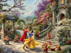 Snow White Dancing In The Sunlight Movies / Books / TV Jigsaw Puzzle