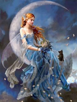 WindMoon, 750 Piece Nene Thomas Fantasy Jigsaw Puzzle