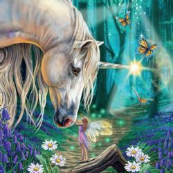 Fairy Whispers' Unicorns Jigsaw Puzzle