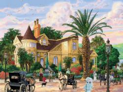 Lockrie Manor (Joseph Burgess) Nostalgic / Retro Jigsaw Puzzle