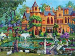 The Top of Bay Street (Joseph Burgess) Garden Jigsaw Puzzle