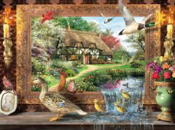 Still to Life Cottage / Cabin Jigsaw Puzzle