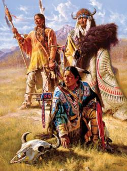 Vision Seekers (Native Portraits) - Scratch and Dent Native American Jigsaw Puzzle
