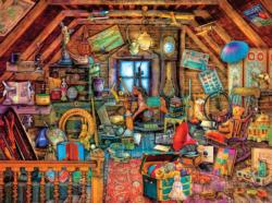 In the Attic (Aimee Stewart Hidden) Everyday Objects Jigsaw Puzzle