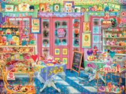 In the Cake Shop (Aimee Stewart Hidden) Sweets Jigsaw Puzzle