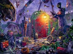 Memorial Garden (Mystery Case Files: Key to Ravenhearst) Mystery Jigsaw Puzzle