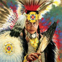 Lighting Native American Jigsaw Puzzle