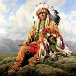 Clouds Native American Jigsaw Puzzle