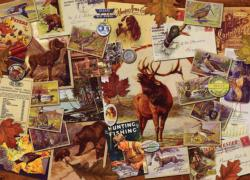 Sportsman Collage Jigsaw Puzzle