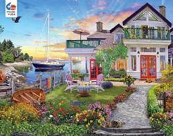 Coastal Escape Seascape / Coastal Living Jigsaw Puzzle