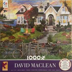 1000 Piece David Maclean Assortment Series 4, #1 Sunrise / Sunset Jigsaw Puzzle