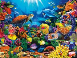 Sea of Beauty (1500 Piece Puzzles) Fish Jigsaw Puzzle
