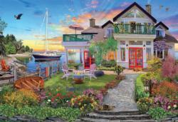 Coastal Escape Seascape / Coastal Living Jigsaw Puzzle