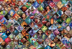 Pixar Clips Movies / Books / TV Jigsaw Puzzle