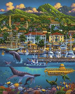 Maui Seascape / Coastal Living Jigsaw Puzzle