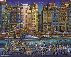 Amsterdam Lakes / Rivers / Streams Jigsaw Puzzle