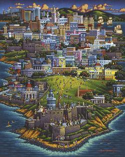 Puerto Rico Skyline / Cityscape Jigsaw Puzzle