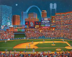 St. Louis Cardinals Baseball Children's Puzzles