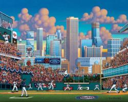 Minnesota Twins Baseball Jigsaw Puzzle