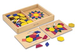 Pattern Blocks and Boards Toy