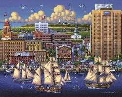 Halifax Seascape / Coastal Living Jigsaw Puzzle
