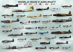 World War II Aircraft Military / Warfare Jigsaw Puzzle
