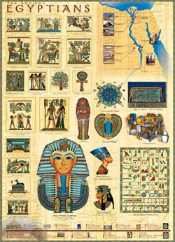 Ancient Egyptians Cultural Art Jigsaw Puzzle
