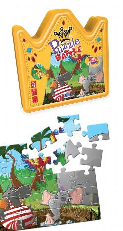 Puzzle Battle Jungle Jungle Animals Children's Puzzles
