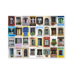 World Windows Pattern / Assortment Jigsaw Puzzle