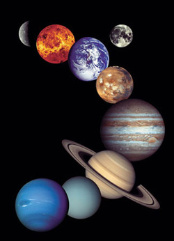 Nasa - The Solar System Science Jigsaw Puzzle