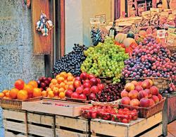 Fruit Market Food and Drink Jigsaw Puzzle