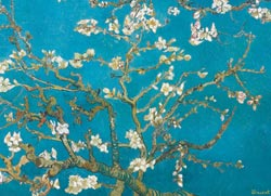 Almond Branches In Bloom Impressionism Jigsaw Puzzle