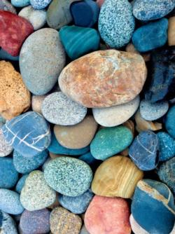 Color Stones (Photography) Pattern / Assortment Jigsaw Puzzle