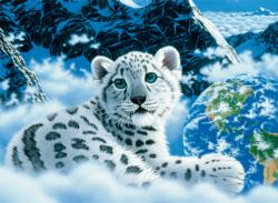Bed of Clouds (Schimmel Glow) Tigers Children's Puzzles
