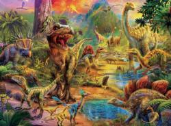 Dinosaurs (Dino Glow) Dinosaurs Children's Puzzles