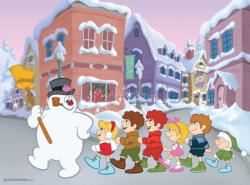 Follow Frosty Christmas Jigsaw Puzzle