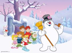 Fun with Frosty Christmas Jigsaw Puzzle